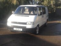 Volkswagen Transporter T4 1.9D Full not 6 seater day van with futon bed