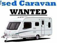 Caravans + Motorhomes wanted