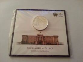 Buckingham Palace 2015 UK £100 Silver coin Royal Mint Limited Edition Legal Tender