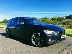 2014 BMW320D SPORT TOURING IMPERIAL BLUE ***FINANCE FROM £60 PER WEEK***