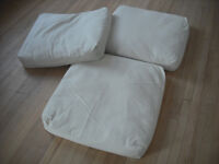 Eco wool floor cushions / impromptu bed