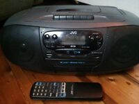 JVC RC-QS11 Portable CD/Radio/Cassette