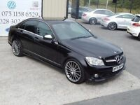 2008 MERCEDES-BENZ C220 CDI AUTO SPORT 4DR SALOON (FINANCE & WARRANTY AVAILABLE)