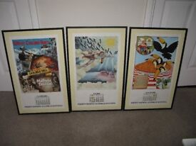 Guinness Calendar Advertising Posters x 3