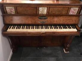 Hopkinson Upright Piano pre 1870