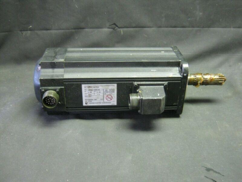 Yaskawa Type Usaged-09as1se Ac Servo Motor W/ Utmah-b15asb Encoder -- .85kw