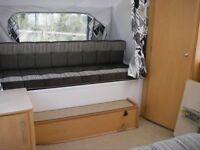 Pennine Fiesta Quartz folding camper 2+2