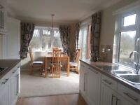 New lodge in Auchterarder for holidays