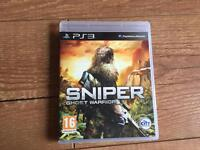 Sniper ghost warrior PlayStation 3 game