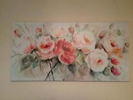 Floral canvas SOLD