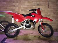 Kids Dirt Bike MALAGUTI GRIZZLY Rev n Go 50cc
