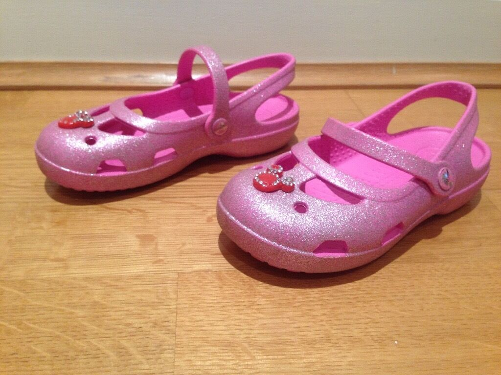 Crocs pink shoes - Size 11