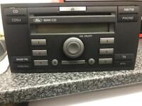 FORD CD 6000 CD HEAD UNIT WITH CODE IN GOOD WORKING CONDITION