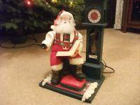 Father Christmas display model