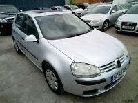 VW Golf 1.6 Automatic 61000 Mileage only 2 keys 11 Months MOT