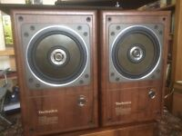 TECHNICS SB-RX50 SPEAKERS EXTREMELY RARE AND AMAZING CONDITION
