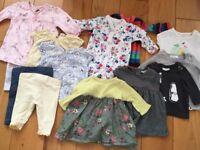 Baby girls newborn bundle £10 - hardly worn