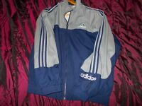 set of 2 x adidas tracksuit tops x 2 at... large D7..adidas code see description size..