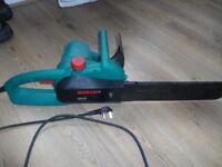 "Bosch AKE40 Chainsaw 240v 16"" Inch With Brand New Chain"