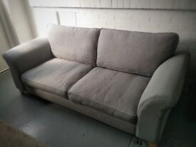 """DFS 3 Seater """"Note"""" Sofa in Ash Colour"""