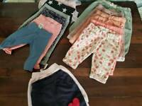 Clothes for a girl. 0-6 months plus couple of 6+ months