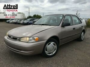 1999 Toyota COROLLA VE AUTOMATIC, AIR CONDITION, 4 DOOR.