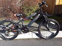**PRICE REDUCED** Halfords Guru Kids mountain bikes