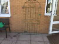 GAlvanised Steel Side Passage Gate with Fitting H180cm W 90cm