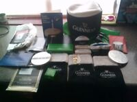 BREWIANA - GUINNESS ITEMS COLLECTION JOB LOT - ALL NEW/UNUSED