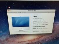 Apple iMac 20 inch. Intel core 2 duo.