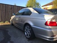 BMW 2001 320 Coupe Petrol, Auto - SPARES OR REPAIR