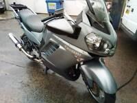 Kawasaki 1400 gtr touring bike