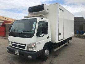Mitsubishi fuso canter fridge truck