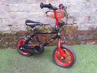 "3yrs+ KID ACTIVE Bike/Can be used as Balanced Bike, 10"" Wheels, 10"" Frame, GC!"