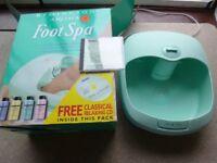 Vibro Massaging Foot Spa
