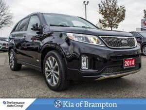 2014 Kia Sorento SX. 7-PASS. NAVI. ROOF. CAMERA. LEATHER