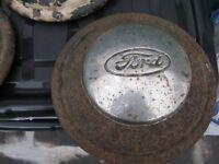 ten vintage wheel hubb caps