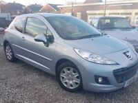 61 2011 PEUGEOT 207 1.4 HDI DIESEL *20 YEAR TAX - PX WELCOME
