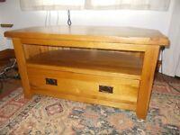 Pine TV Cabinet
