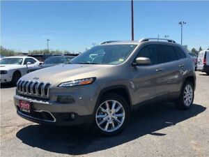2017 Jeep Cherokee LIMITED**LEATHER**8.4 TOUCHSCREEN**NAV**
