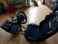 PRICE DROP Play seat with g29 and pedals