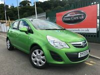 2013 (13 reg) Vauxhall Corsa 1.2 i 16v Exclusiv 5dr Hatchback Petrol 5 Speed Mnaual Low Miles