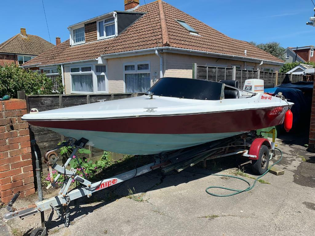 Driver 440 14 Foot Speed Boat With Electric Trim And Tilt And Cover In Fareham Hampshire Gumtree