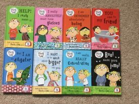 8 Charlie and Lola book collection set. Excellent condition