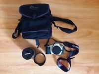 Canon E05 300 For Sale and Tamron AF 28–300 asph XR LD (IF) 5–6.3 Canon 1:3. and Camera black bag