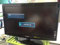 "Samsung flat screen 40"" TV"
