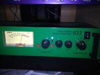 Joe Meek SC2.2 Stereo Compressor with Dark Mode
