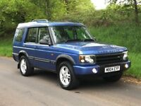 Mint 2004 Land Rover Discovery Landmark TD5 manual, full mot, only 84k, trade in ok, credit cards ok
