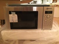 Brand new NEFF stainless steel microwave H53W50N3GB for 500mm housing