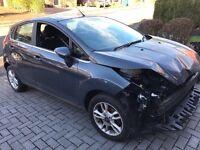 2014 Ford Fiesta Zetec 1.0 5 door damaged salvage